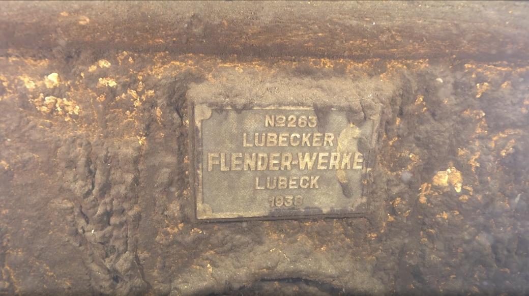 Водолазы обследовали затонувший в 1941 году танкер с нефтепродуктами