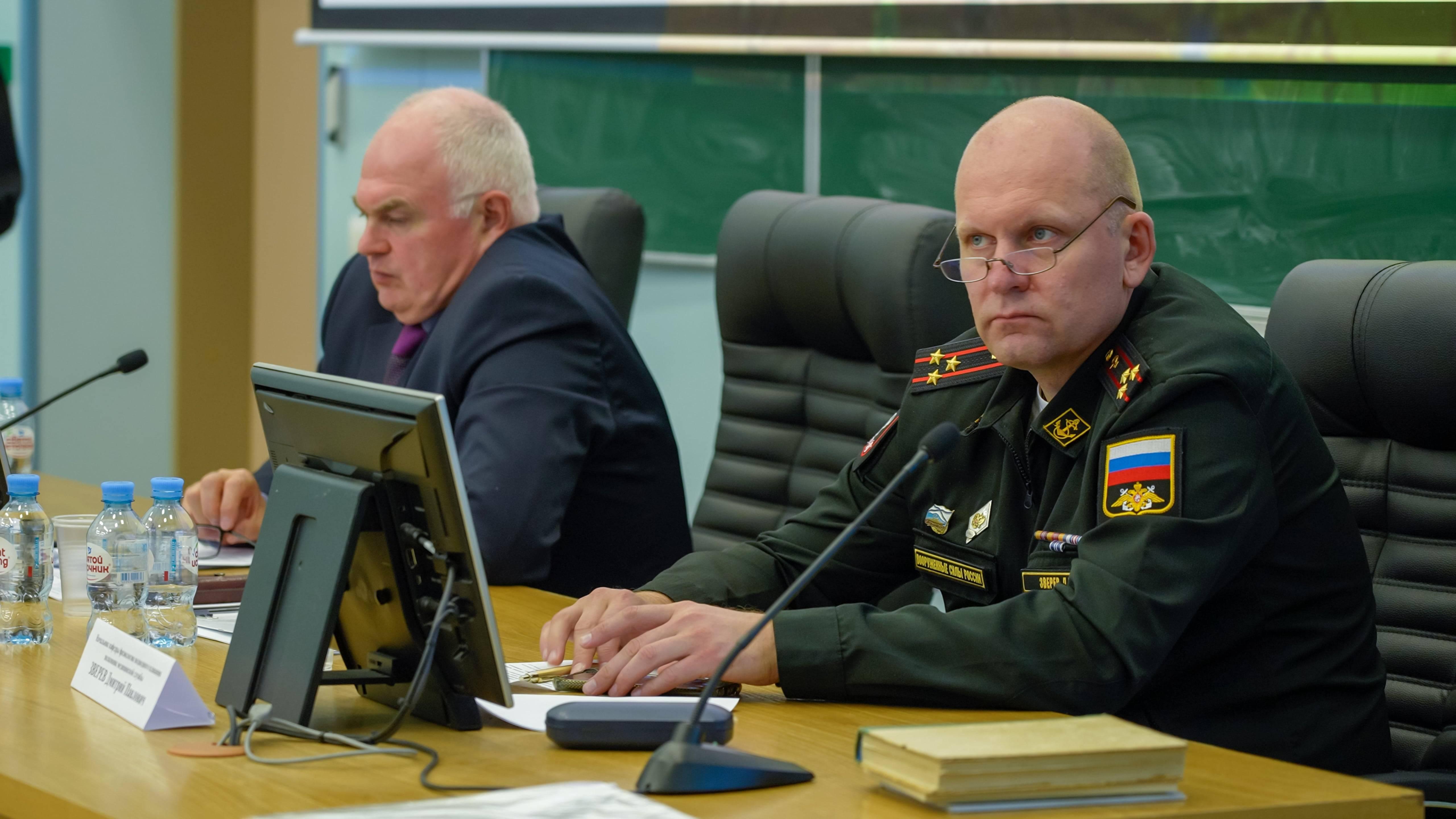 Доклад в Военно-медицинской академии