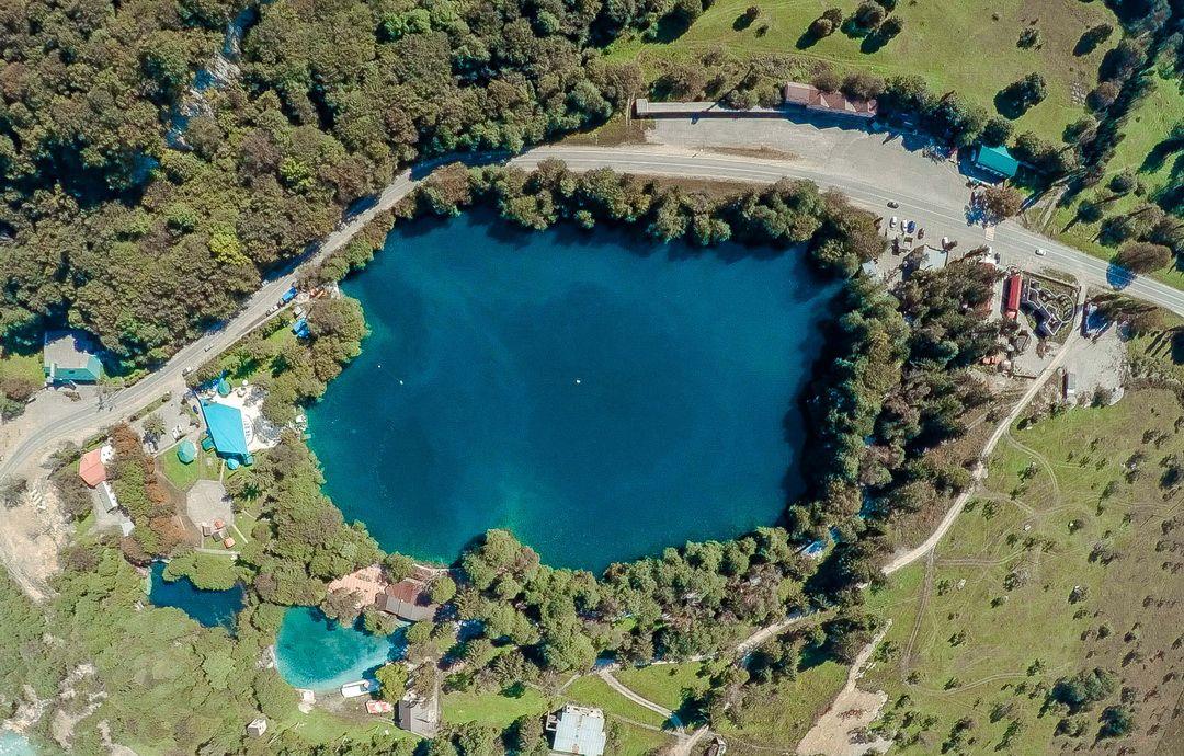Голубое озеро, оно же Церик-Кель