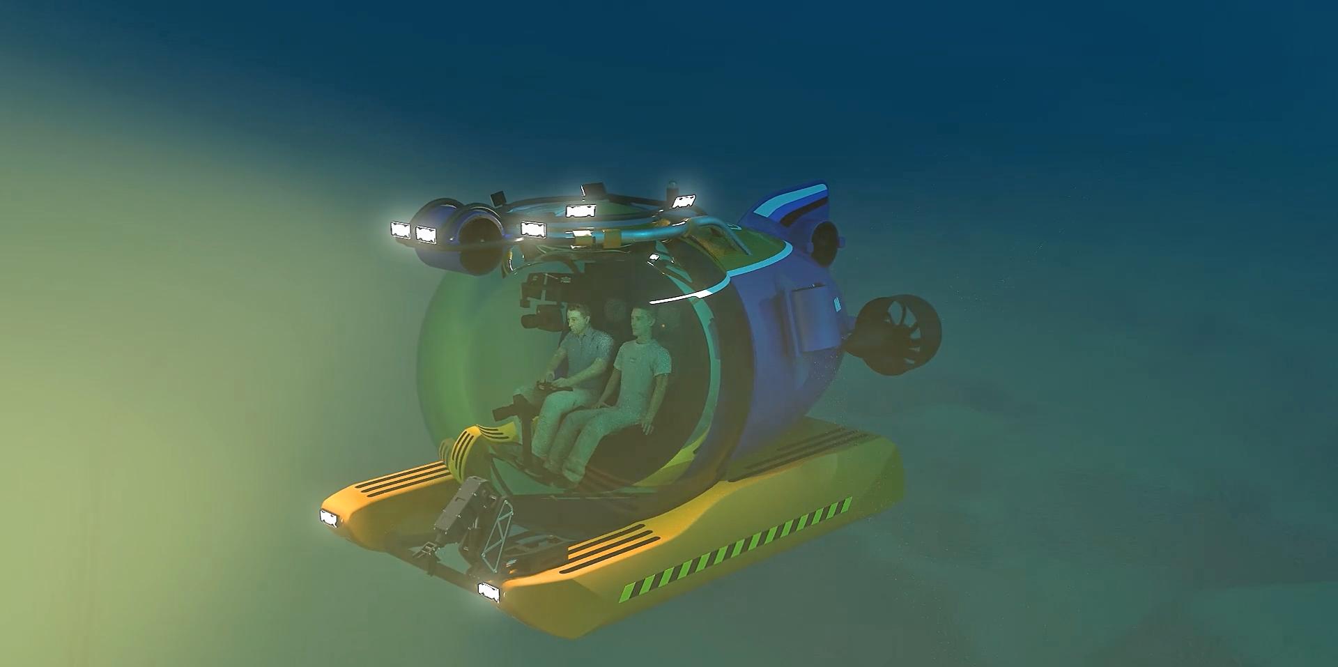 Проект ЦПИ РГО Отечественный обитаемый подводный аппарат